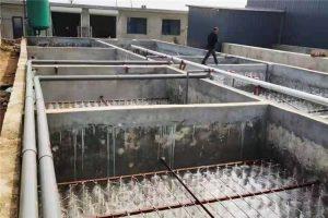 周口郸城肉炼厂屠宰污水(300T现场)